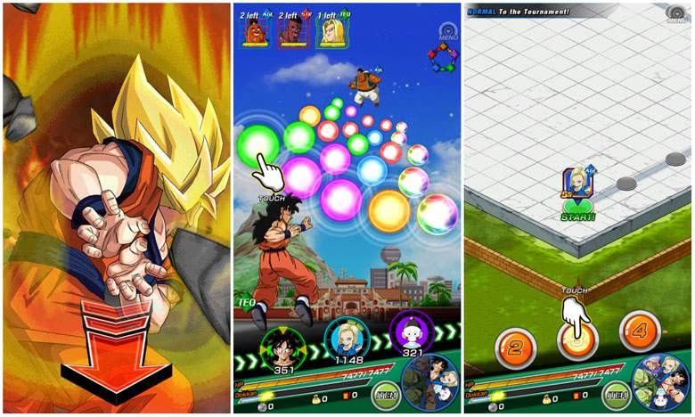Dragon Ball Z Dokkan Battle link skills