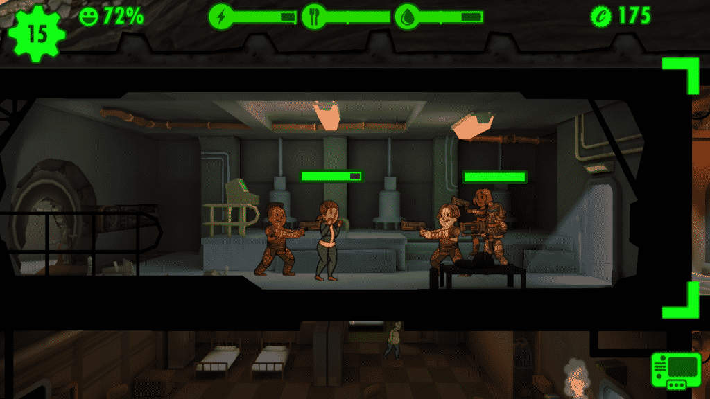 Fallout Shelter raiders