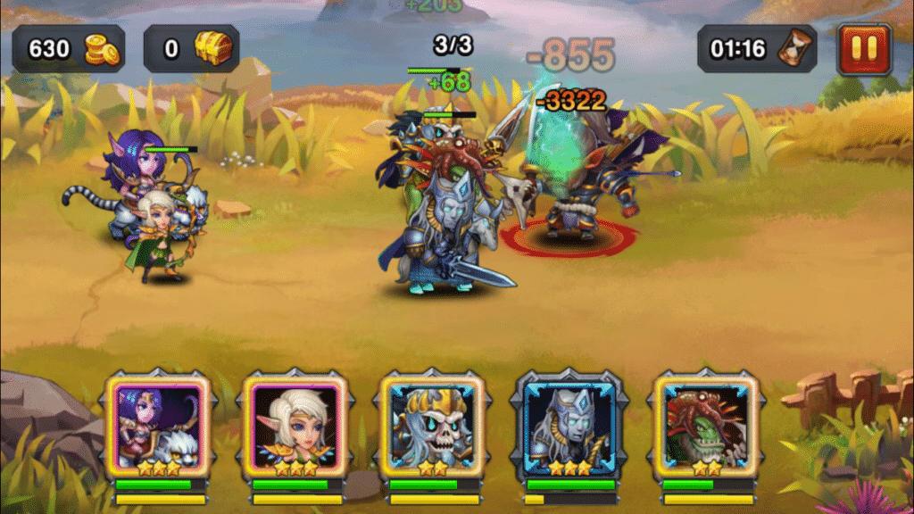 Heroes Charge team