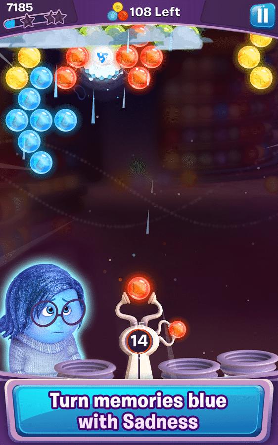 Inside Out Thought Bubbles frozen