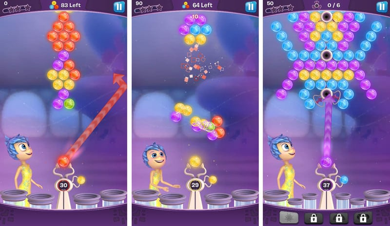 Inside Out Thought Bubbles line