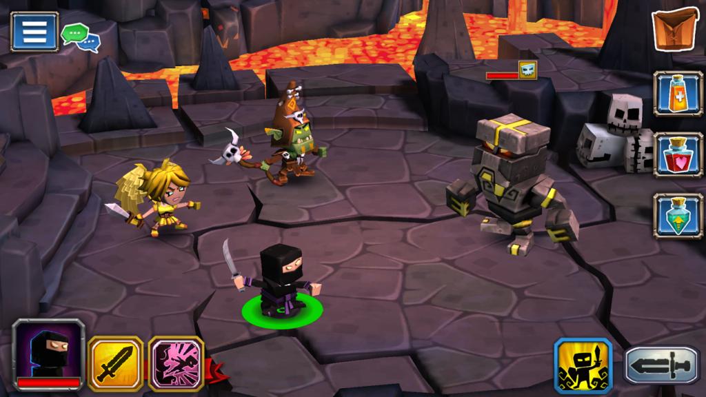 Dungeon Boss elements