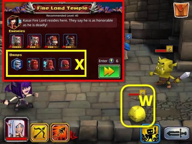 Dungeon Boss evos