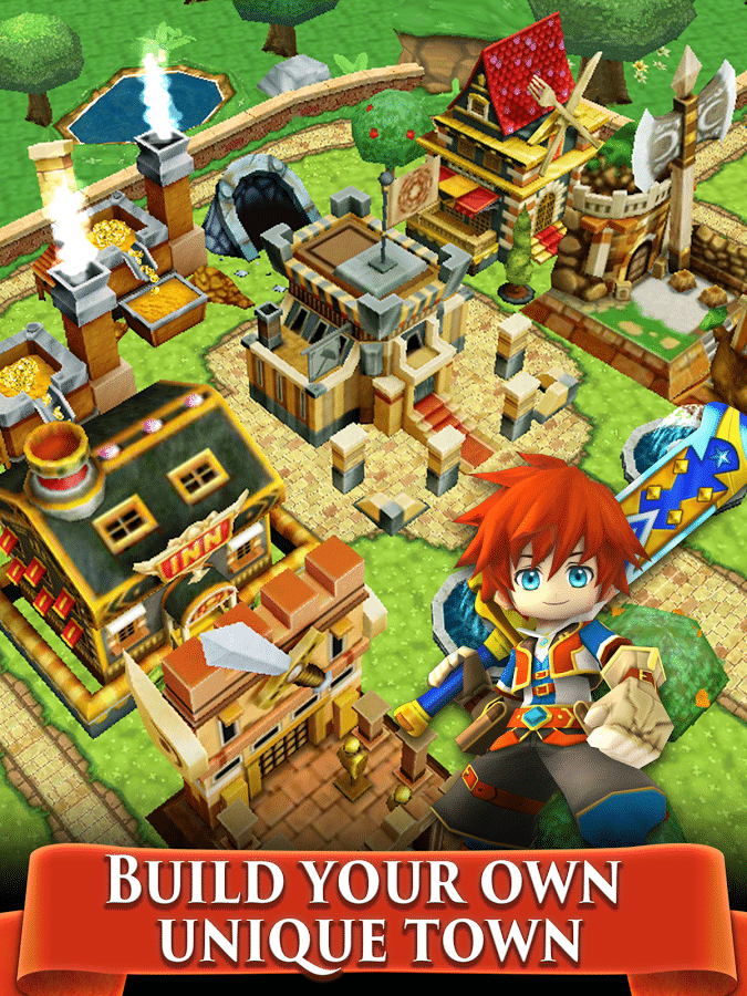 Colopl Rune Story town