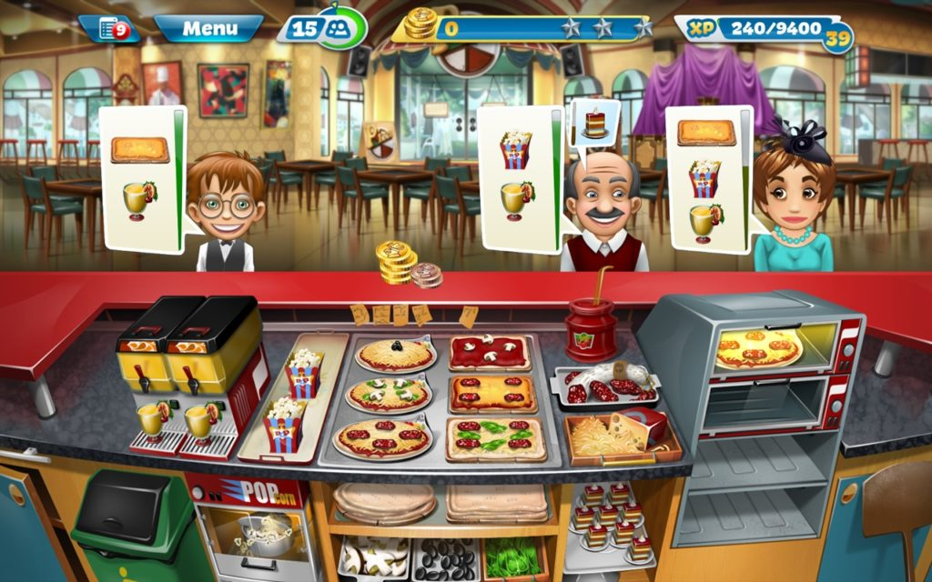 Cooking Fever kitchen