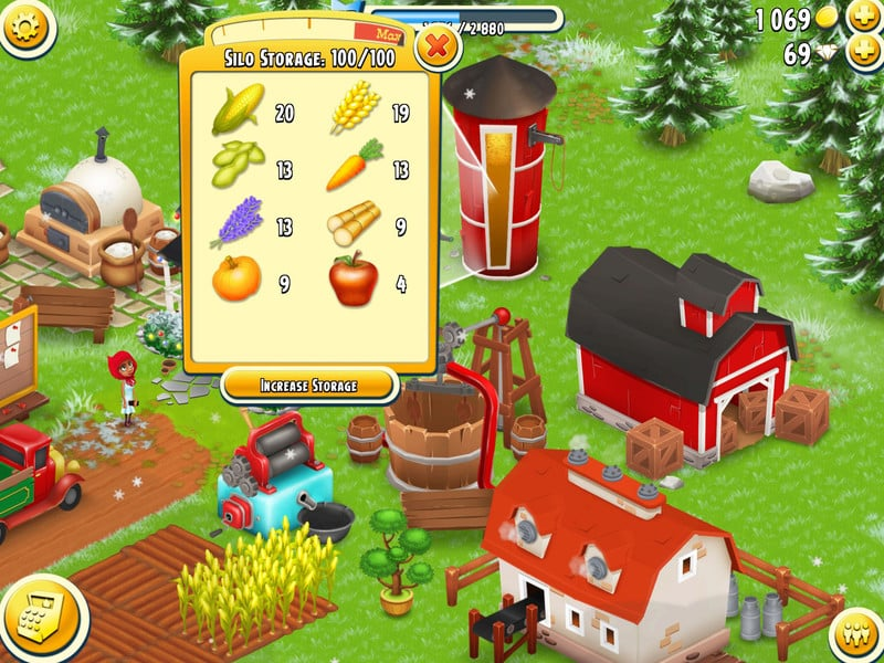 Hay Day slow crops