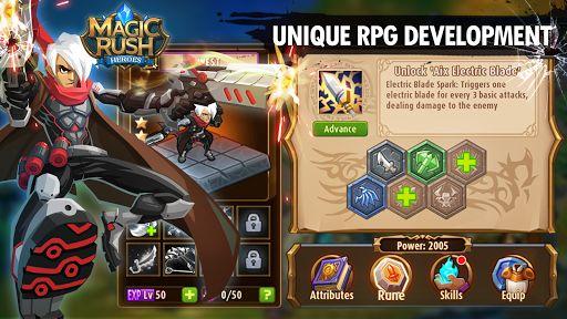 Magic Rush Heroes levels