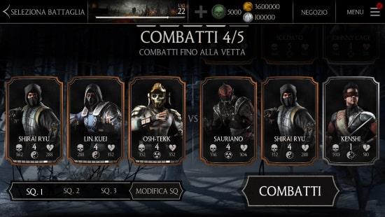 Mortal Kombat X fight chracters